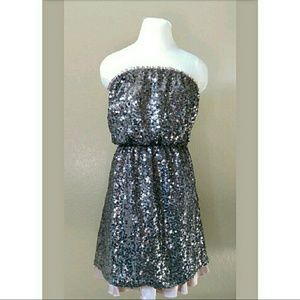 DKNY fabulous sequined sheath dress New Years Eve