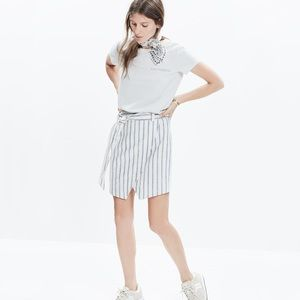 Madewell Portside Wrap Skirt