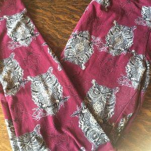 LLR os owl leggings