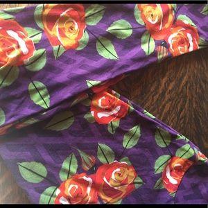 LLR os rose leggings