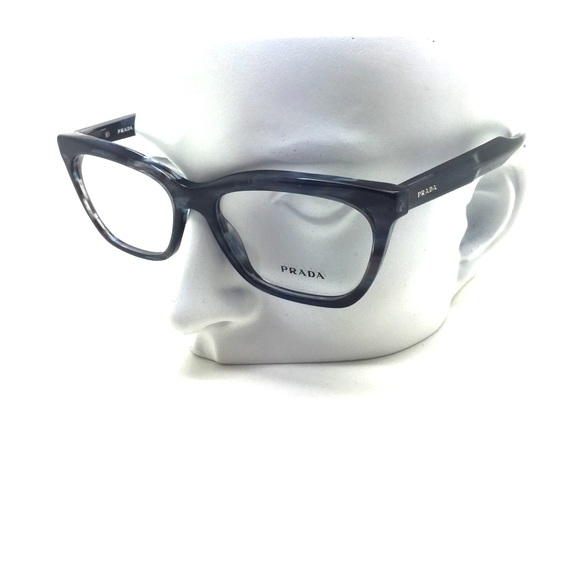 738046398f4b New Prada VPR 24S UEQ-1O1 53mm Eyeglasses