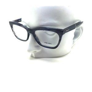 New Prada VPR 24S UEQ-1O1 53mm Eyeglasses