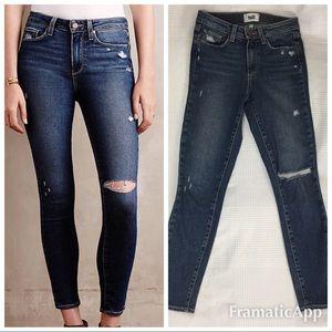 Paige Hoxton Ankle Jeans Size 25