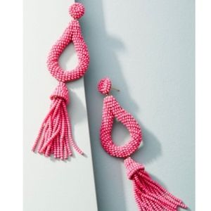 Anthropologie Jasmine Tassel Drops NEW!