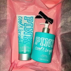 PINK VS Cool & Bright bath&body set