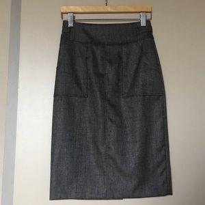 Halogen Long Pencil Skirt