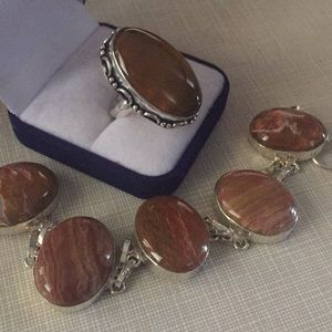 Jewelry - Beautiful nuances of autumn color Jasper