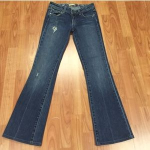 """Paige """"Hollywood Hills"""" Classic Rose Boot Cut"""