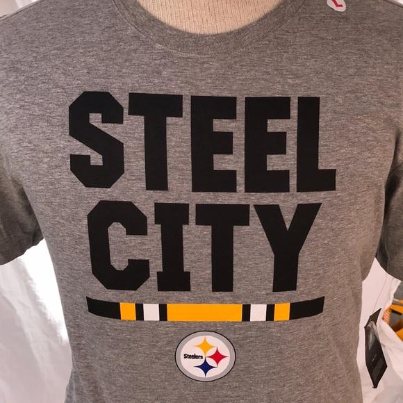 1b75bde6 NWT steel City Pittsburgh Steelers T-shirt