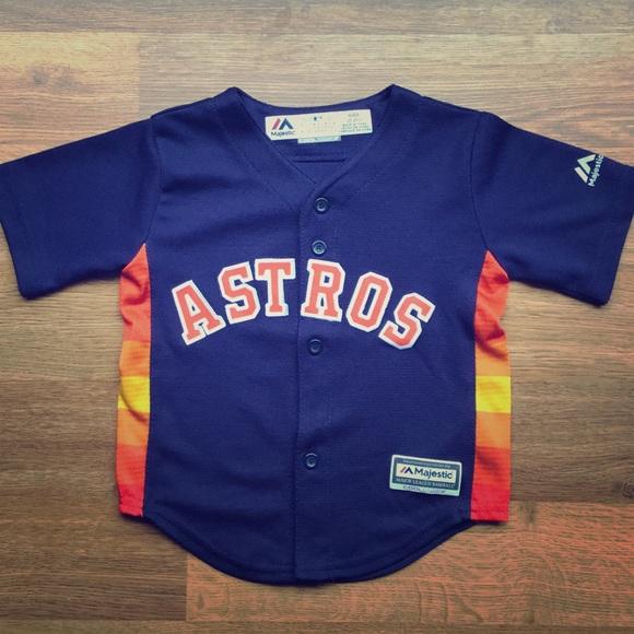 5abc3185a Majestic Shirts & Tops | Toddler Houston Astros Jersey | Poshmark