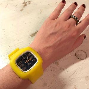 Crow yellow watch