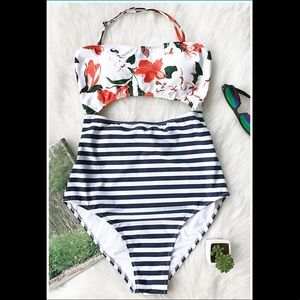 Cupshe Fashion One Piece Cutout Swimsuit