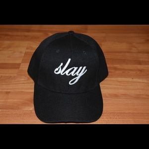 Beyoncé inspired Dad hat - slay - in cursive