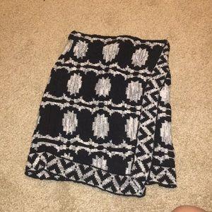 Free People knit skirt