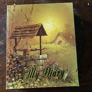 My Diary Wooden Box