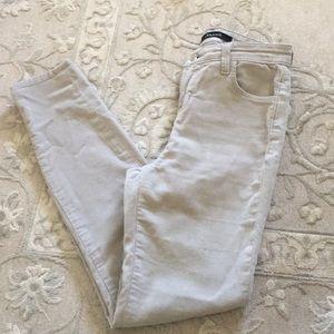 J brand jeans corduroy size 24 skinny