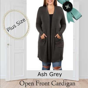 Sweaters - Host Pick🎉🅿️ Slouchy Pocket Open Front Cardigan