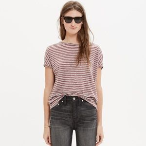 Madewell - Linen Striped Tee