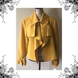🆕{Anne Klein} Yellow Blazer Jacket