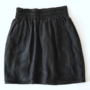 Club Monaco Silk Skirt