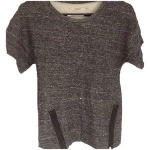J Brand Zipper T Shirt