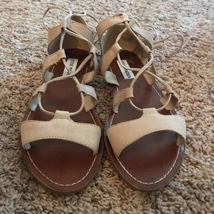 Steve Madden Gabriella Suede Sandals size 8.5