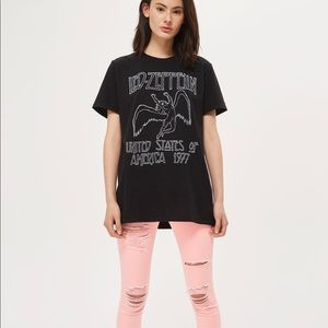 Topshop by And Finally Led Zeppelin Tee