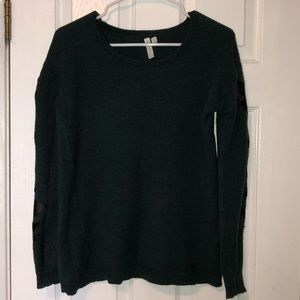 Dark green/blue urban outfitters sweater