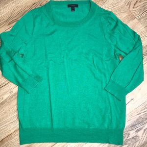 J Crew Green Tippi Sweater Size Large