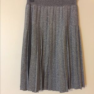 DIAMOND DIPPED Levi pleated skirt