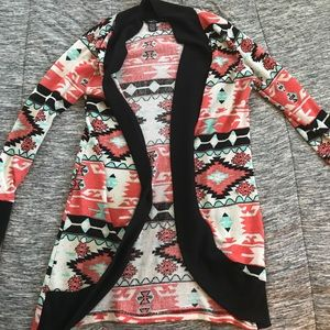 Aztec Pattern Cardigan