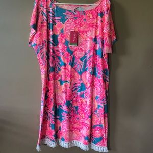 Lilly Pulitzer Tilla dress size L NEW WITH TAGS