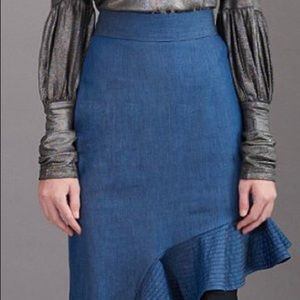 Stylist jeans skirt