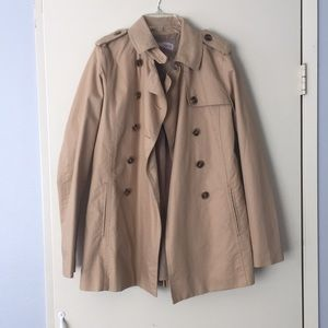 Forever 21 tan/brown trench coat