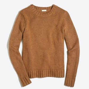 🆕 J. Crew marine sweater brown small wool blend