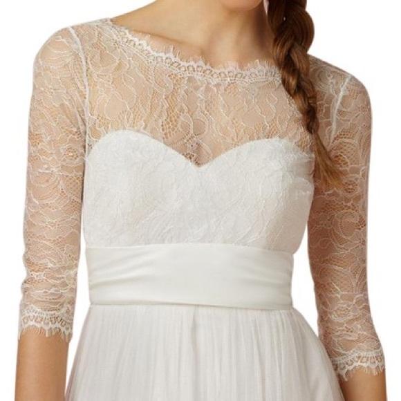 3dc88300e0b Bhldn Marnie Wedding Dress Topper