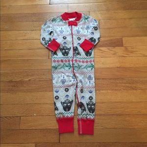Hanna Star Wars Fair Isle Pajamas NWT Size 75