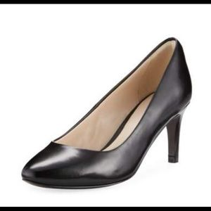"Coming soon! Cole Haan ""Helen"" black leather pump"
