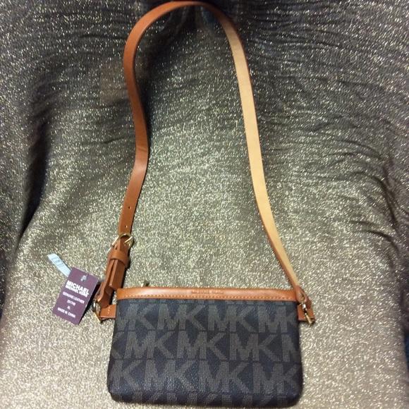 e19ed67acd71 MICHAEL Michael Kors Bags   Michael Kors Fanny Pack Belt Bag Mk Logo ...