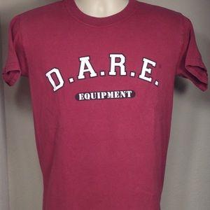 Vintage D.A.R.E Equipment Shirt Size Small