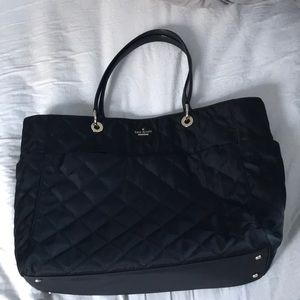 NWOT KATE SPADE LARGE BLACK DIAPER BAG