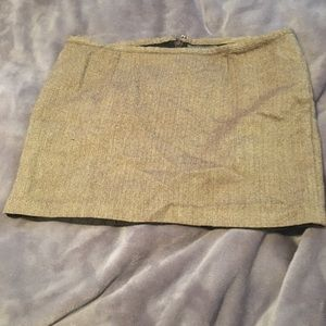 Old Navy tweed mini skirt