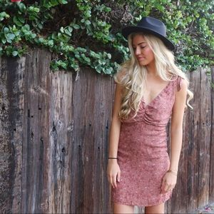 Dresses & Skirts - mauve floral dress