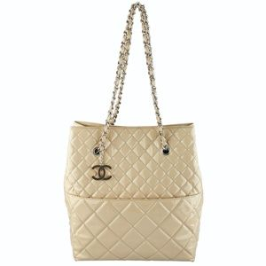 Chanel Medallion Shopper Quilted Tote (126795)