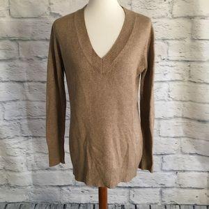 Zara Silk Cashmere V Neck Sweater