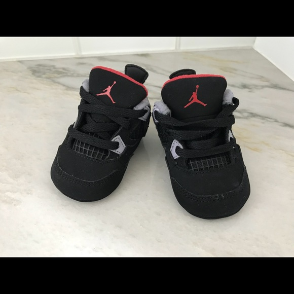 check out 6cc7d 488a5 Jordan 4 Retro shoes, Size 1 (0-3mo)+ matching cap
