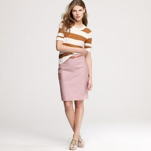 J.Crew No. 2 Pencil Skirt In Double-Serge Cotton