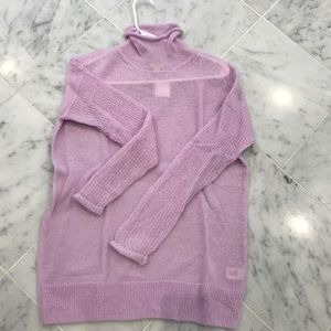 JCrew Factory Lilac Sweater Size XS NWT