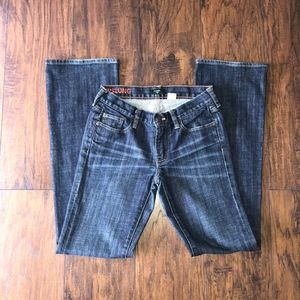 J.Crew Stretch Hipslung Denim Sz 27R