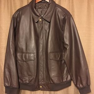 RedHead Leather Jacket  - Large